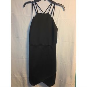 Charlotte Russe | Black Double Strap Dress